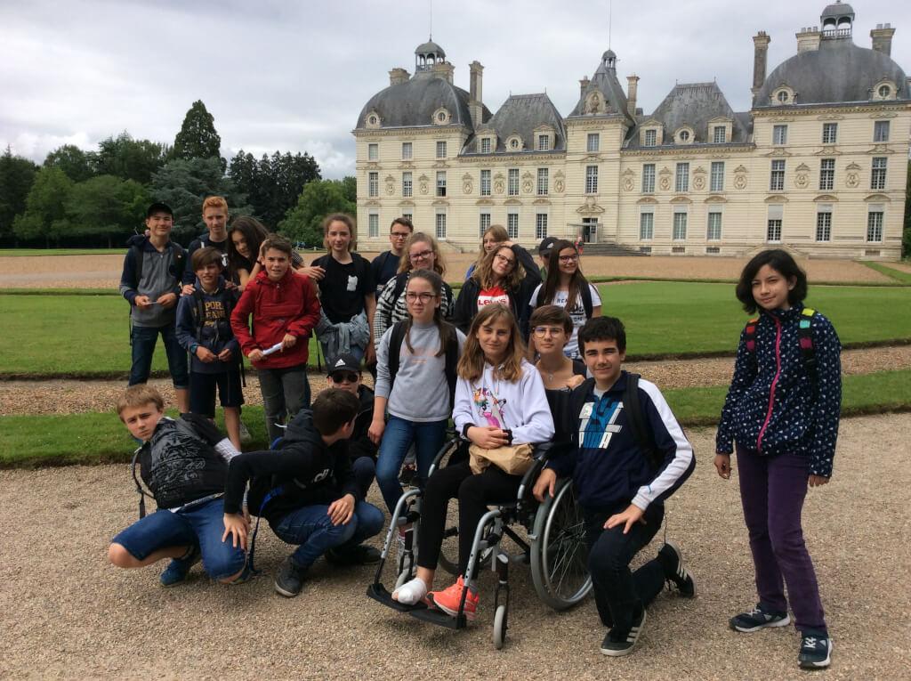 Séjour des 5èmes dans la Loire