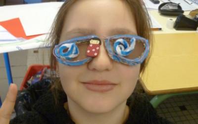 Regarde mes lunettes
