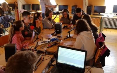 """Radio St Jo : les 4e Balzac témoignent de leur engagement pour """"Espoir Talibés"""""""