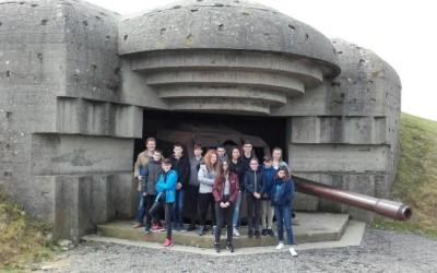 Sortie en Normandie de nos élèves de 4ème ayant participé à la célébration du 8 Mai