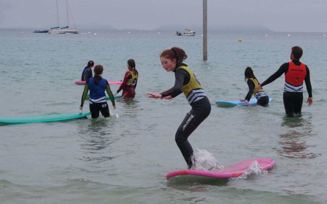 Initiation surf pour les 6èmes