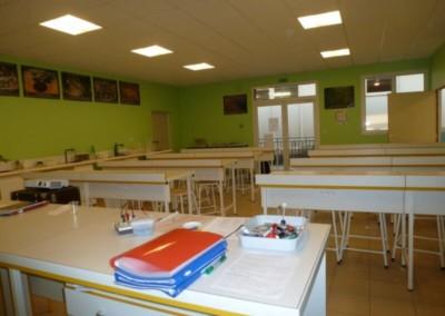 Le labo de sciences physiques