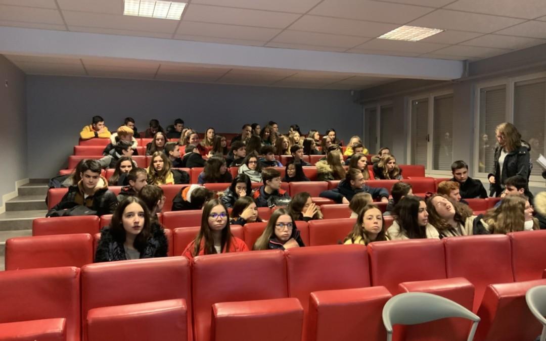 Les 3e au lycée Notre-Dame de Guingamp