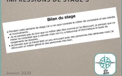 Stages de 3e : bilans et rapports
