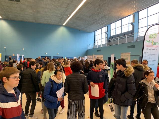 Salon Explora Lycée du 5 Mars à Saint Brieuc