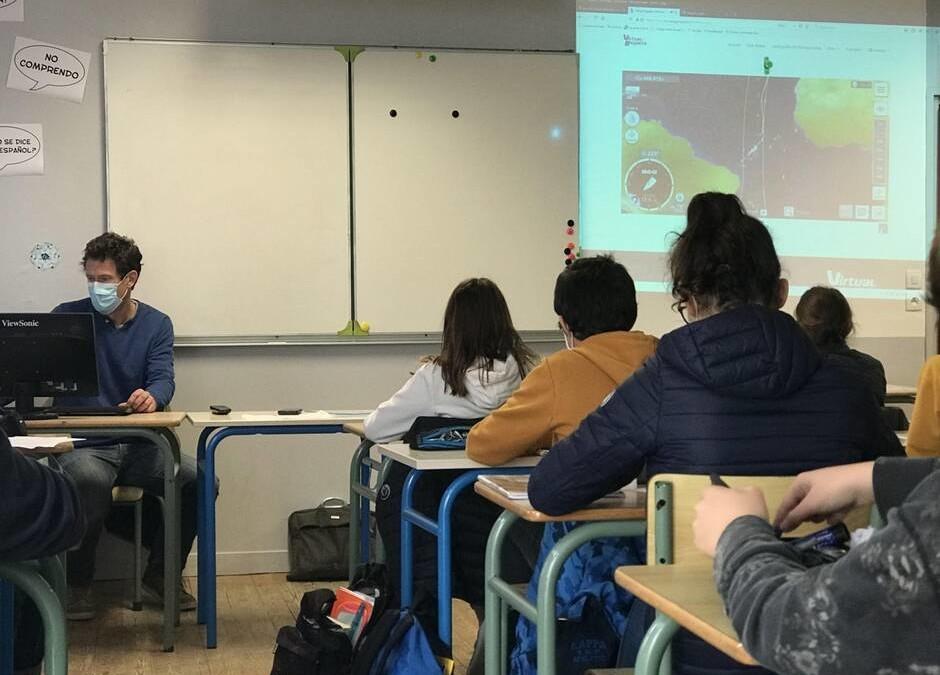 Virtual Regatta au collège