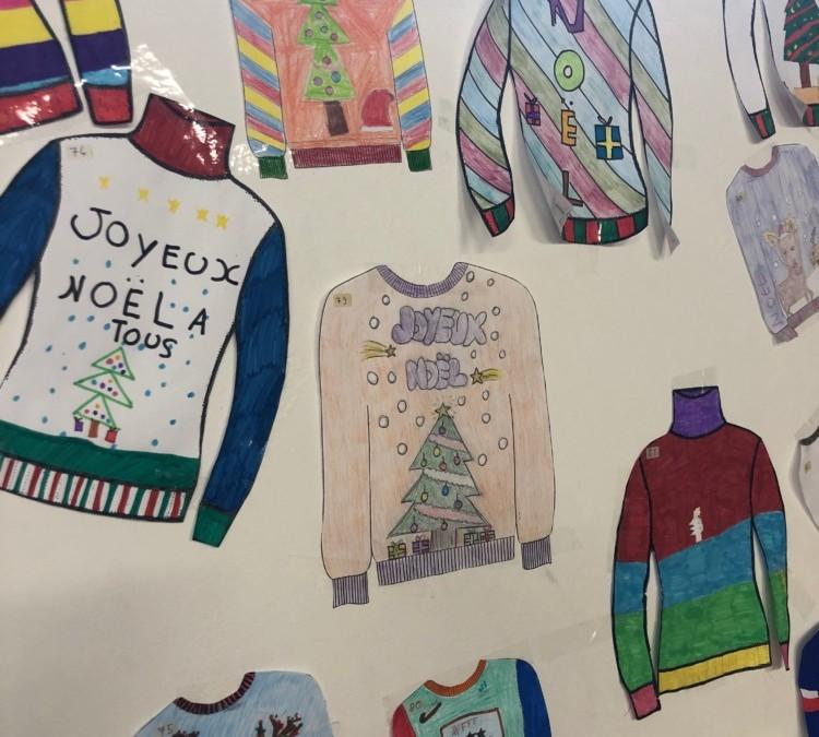 Concours de Pullovers et Bonnets de Noël